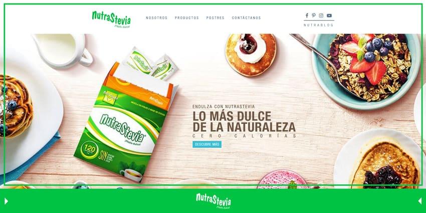¡Listo! Renovamos la página web NutraStevia