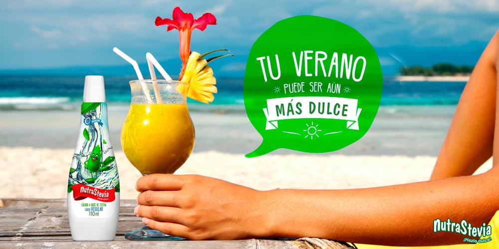 Tu verano puede ser más dulce con NutraStevia