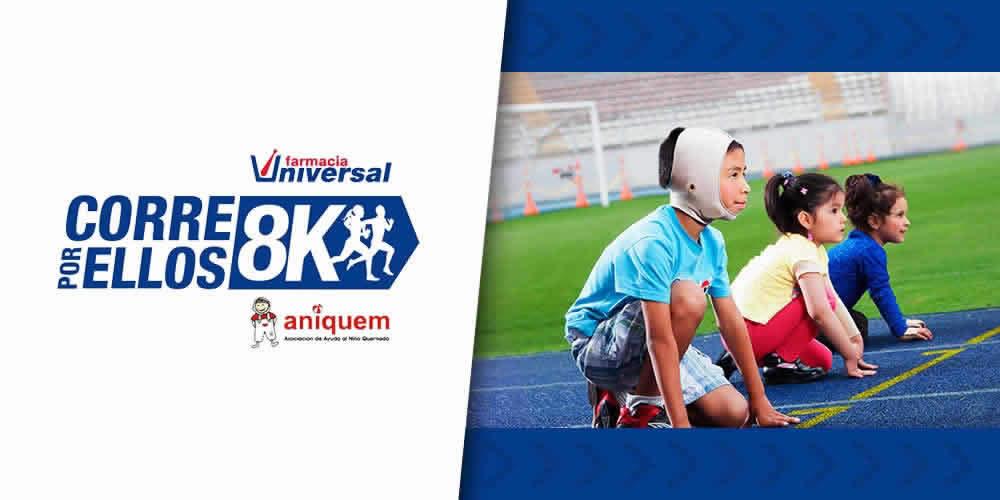 NutraStevia auspiciador de la carrera en ayuda a los niños de Aniquem