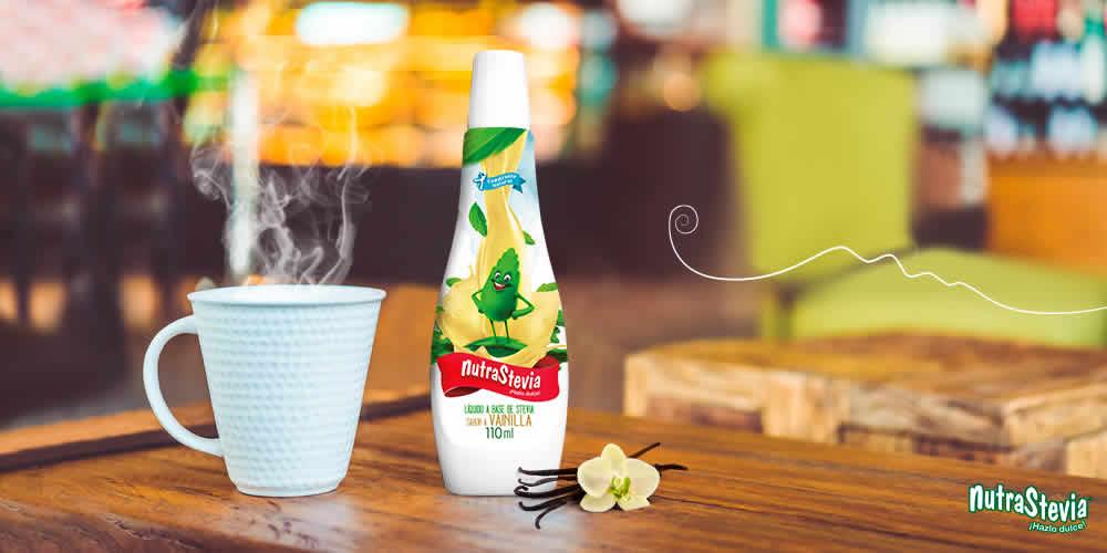 Conoce el nuevo NutraStevia Líquido sabor vainilla