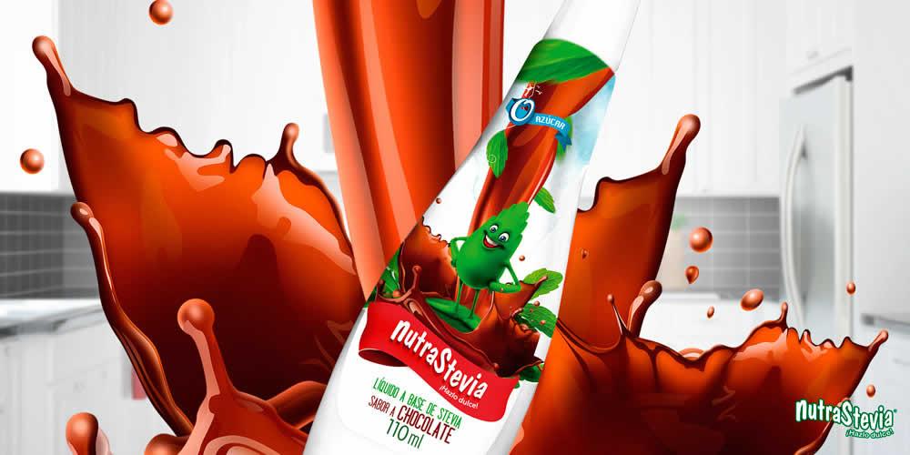Te presentamos la nueva NutraStevia Líquido sabor chocolate