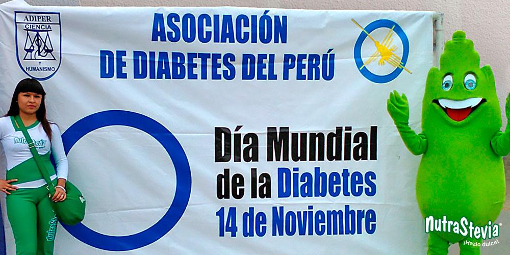 """NutraStevia y Adiper juntos en el """"Día Mundial de la Diabetes"""""""