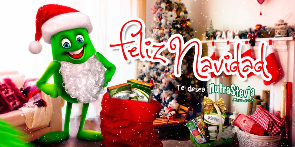 NutraStevia te desea una Feliz Navidad y un Próspero Año Nuevo