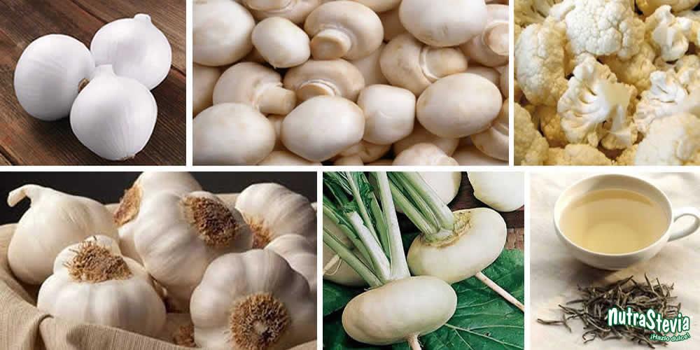 6 alimentos blancos que te ayudarán a desintoxicarte