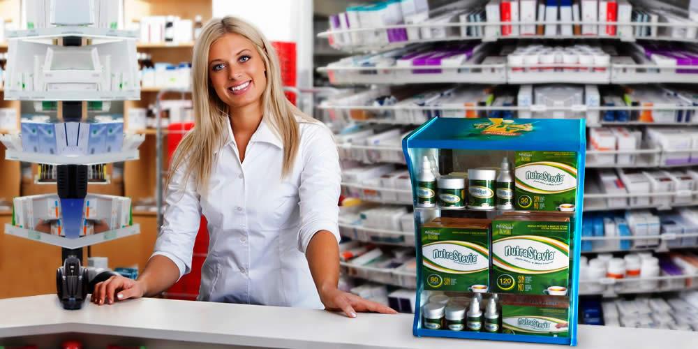 """Lanzamiento del """"dispensador NutraStevia"""" para farmacias"""