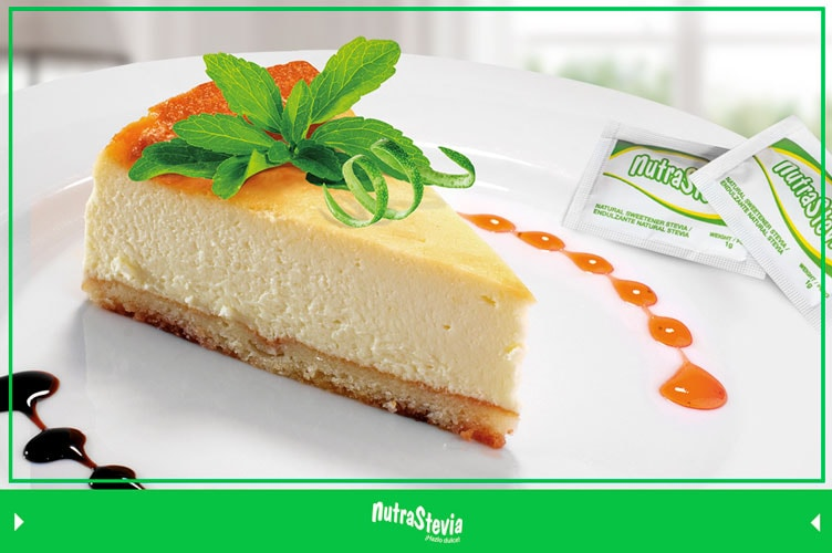 cheesecake de limon con stevia