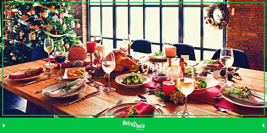 como disfrutar de una cena navidena saludable
