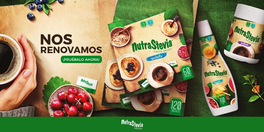 NutraStevia se renueva y cambia su imagen