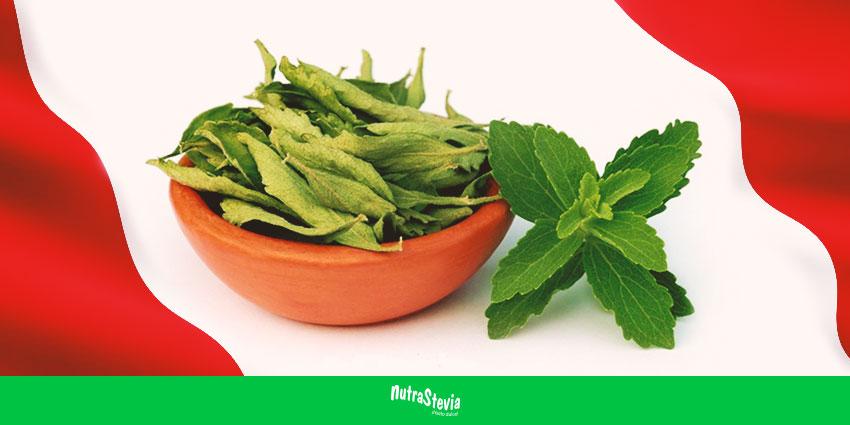 El crecimiento en el consumo de la stevia en el Perú